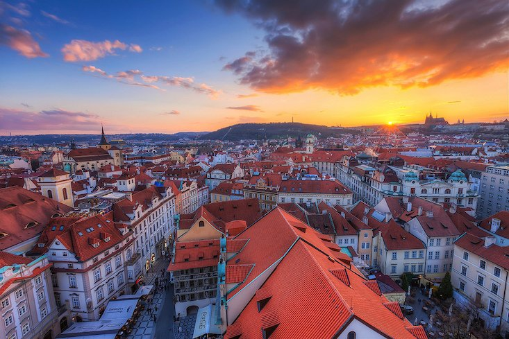 Prague and St Petersburg named among world's top destinations