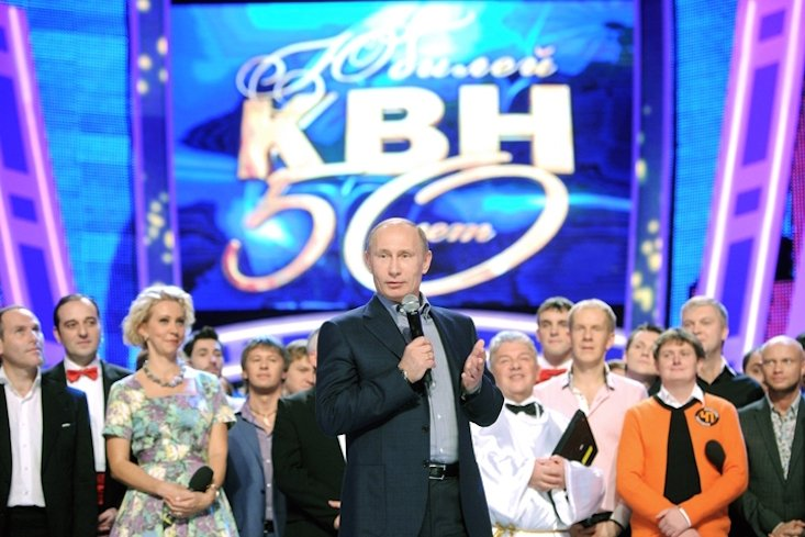 NATO says Russian comedy show is propaganda tool