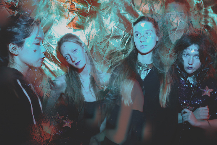 Listen to the new EP from Russian psychedelic girl band Lucidvox