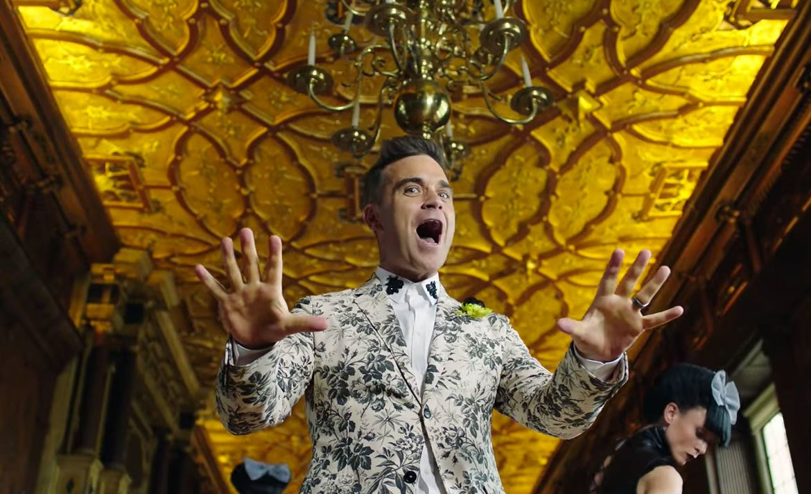 Robbie Williams ready to step in for Russia in case of Eurovision ban