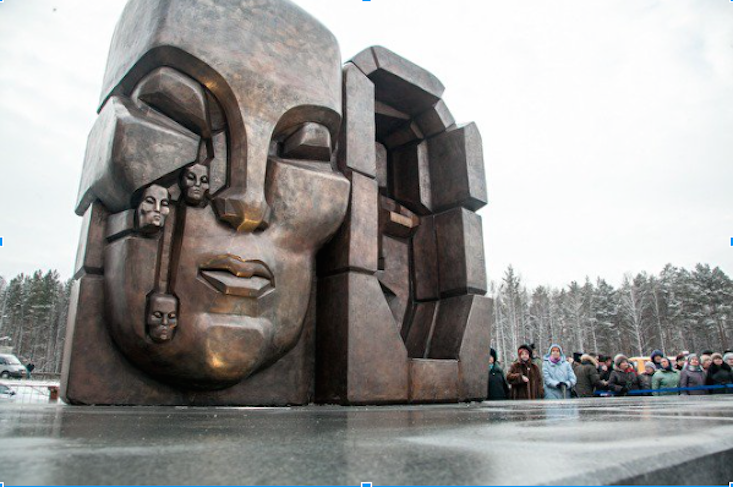 New monument to Stalin's victims unveiled after 27-year wait