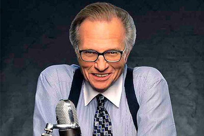 Larry King to host talk show on Russian TV channel