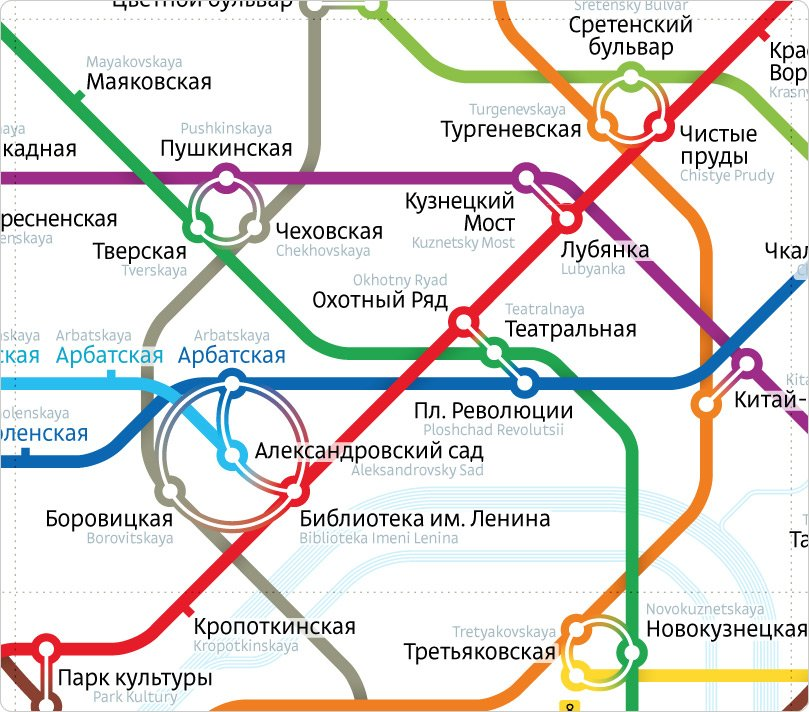 Art Lebedev Studio wins vote for best Moscow Metro map redesign