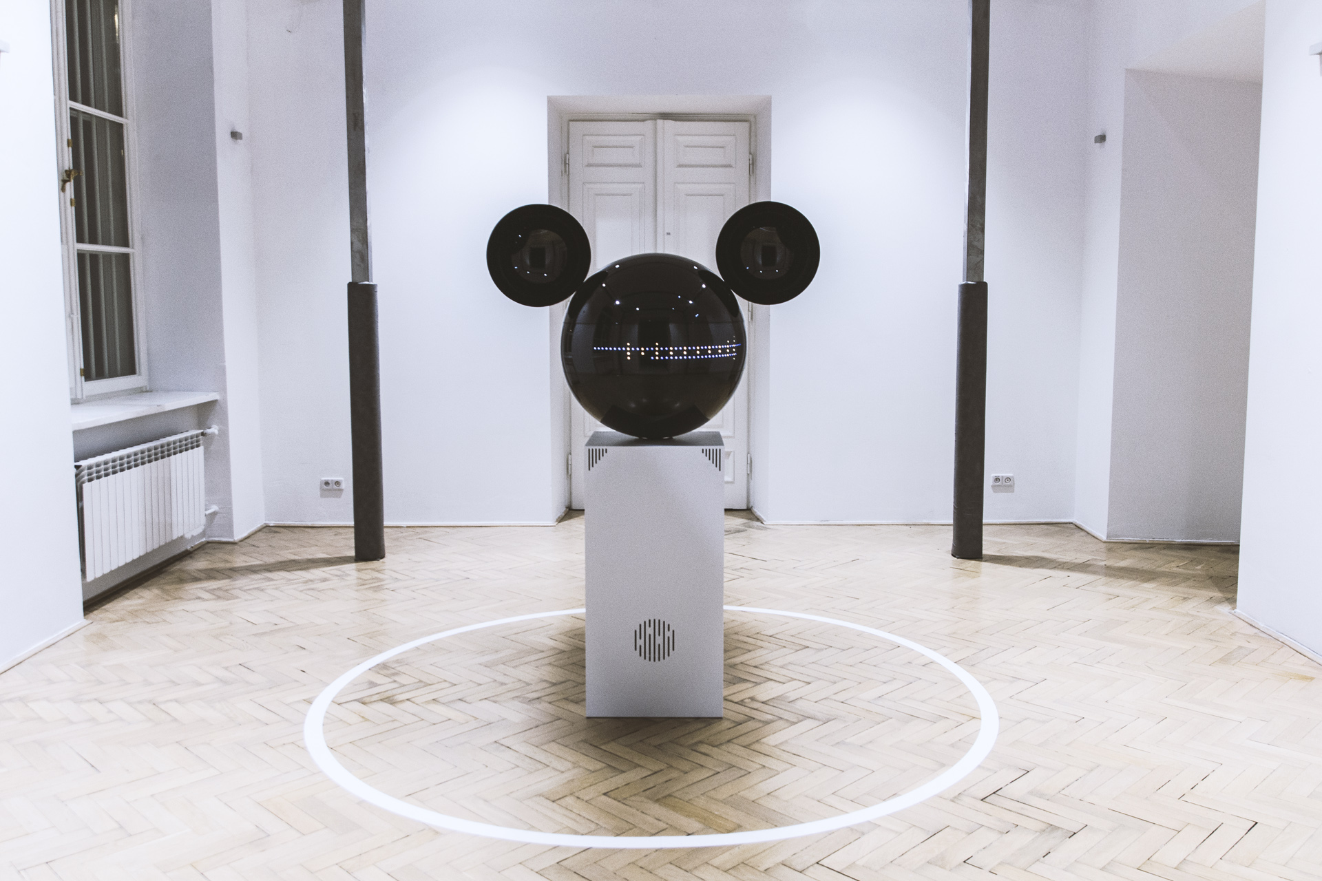 Disney and Warsaw design group bring Mickey Mouse to life in interactive installation