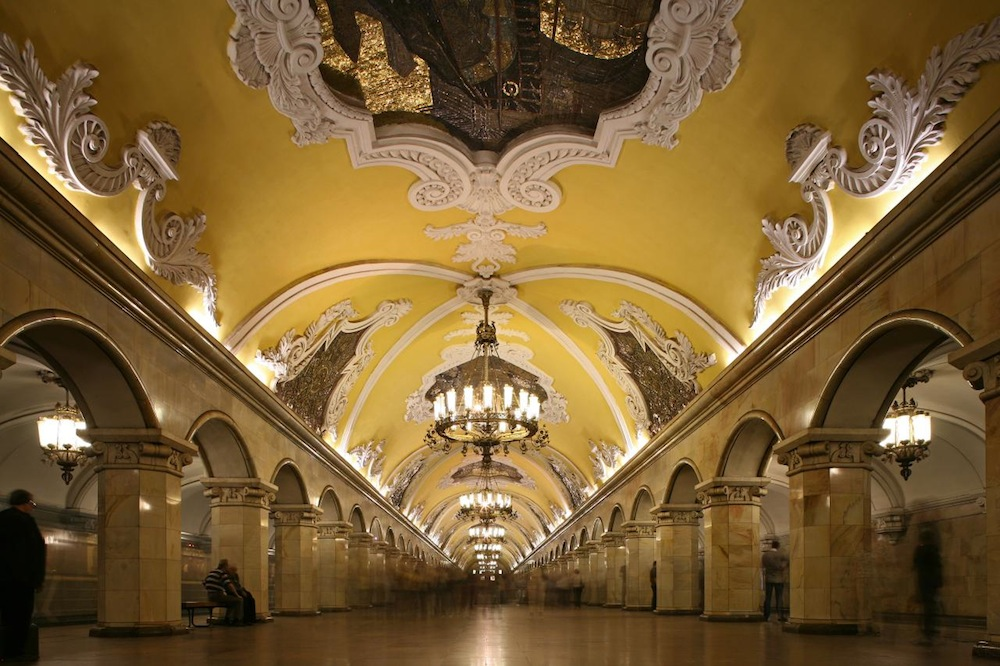 Moscow metro launches virtual library with QR-codes