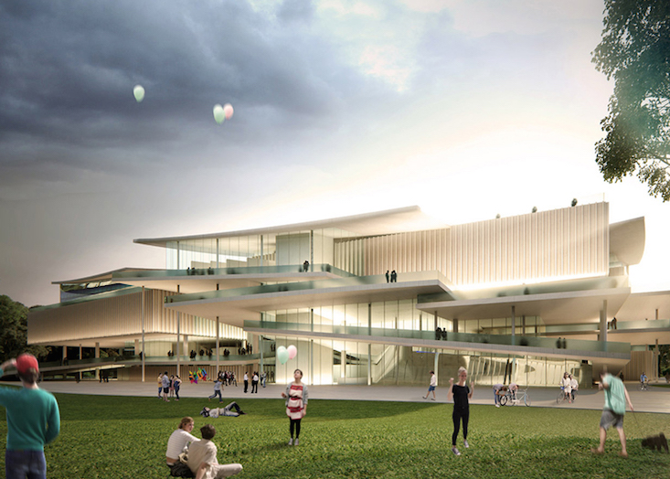 Japanese studio SANAA to design new national gallery in Budapest