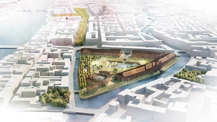 Reconstruction plans announced for St Petersburg's New Holland