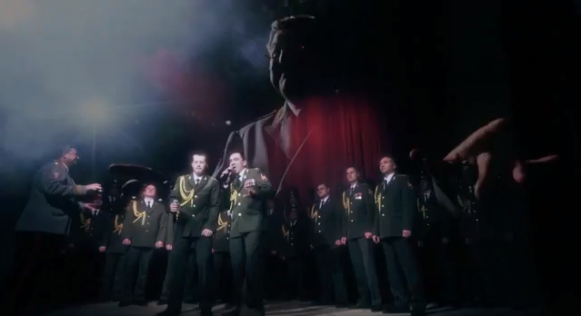 Russian police choir cover Get Lucky
