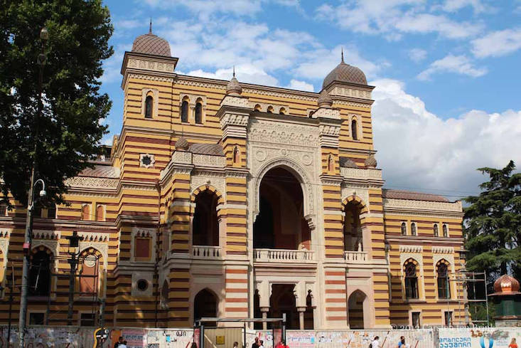 Tbilisi Opera and Ballet Theatre reopens