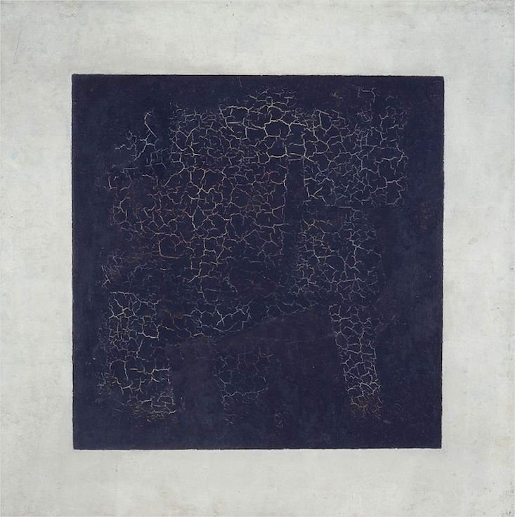 Art experts discover images behind Malevich's Black Square