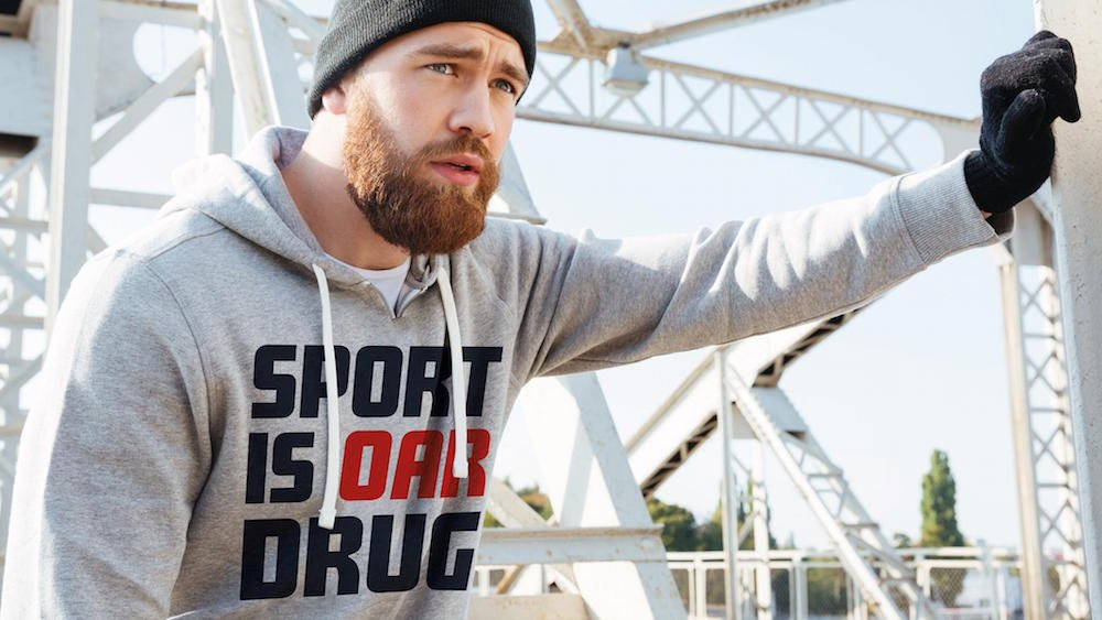 'The truth is our drug': the politically-charged sportswear for Russia's 'neutral' supporters
