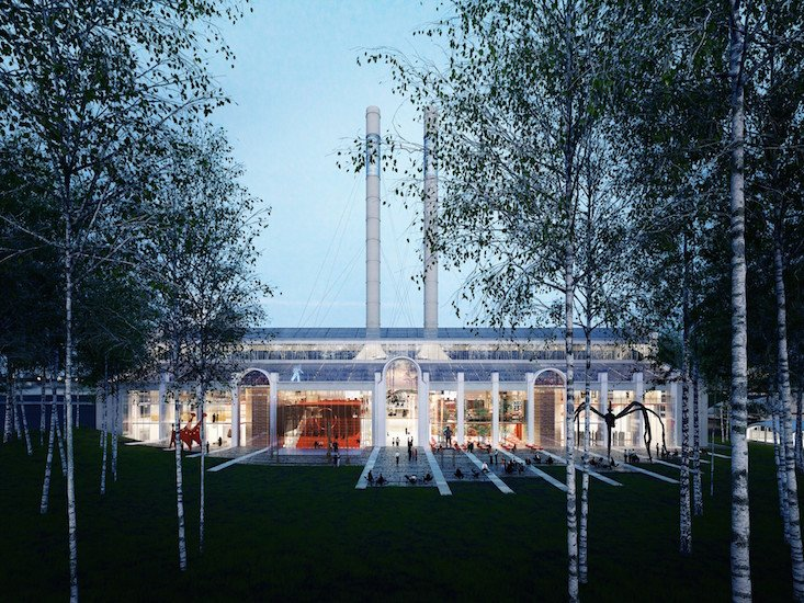 V-A-C Foundation plans to transform a Moscow power station into a major art venue