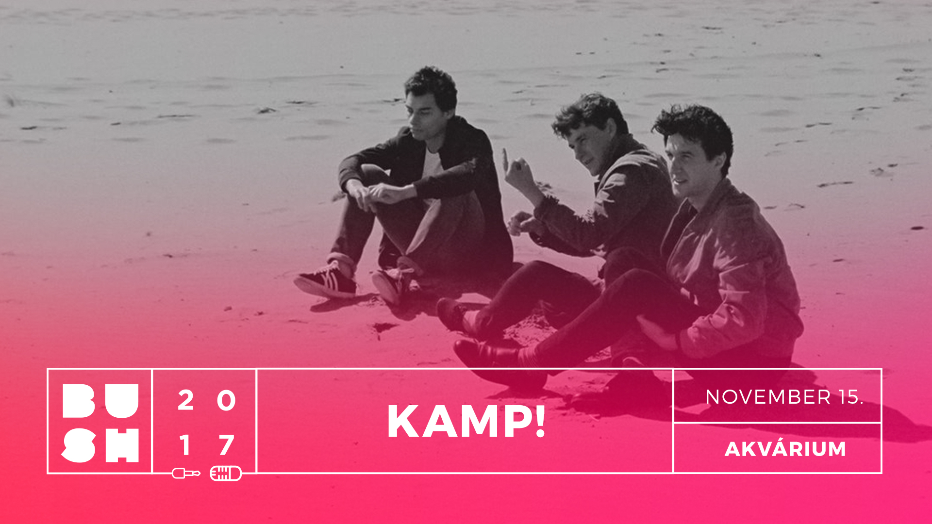 BuSH festival takeover: discover the disco-tinged synth sound of Polish pop trio, Kamp!