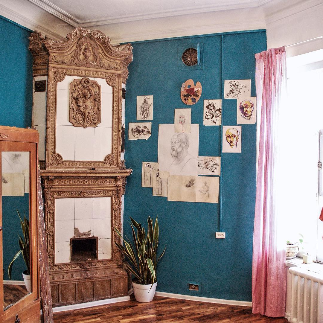 Follow of the week: peek inside old St Petersburg apartments