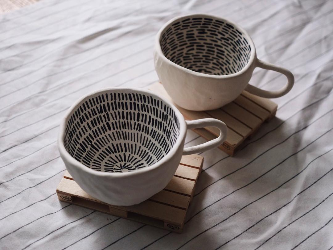 An imperfect ceramics brand from Moscow