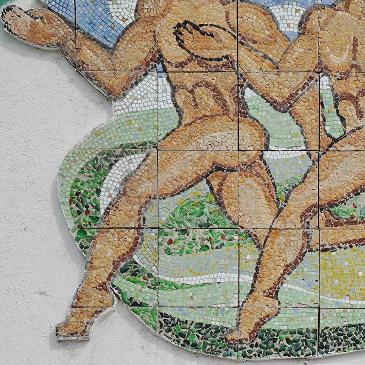 Follow of the week: Soviet mosaics from the Far East to Moscow
