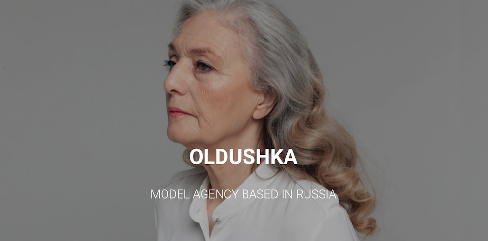 Oldushka: check out the blog-turned-model agency making cover stars of over 55s