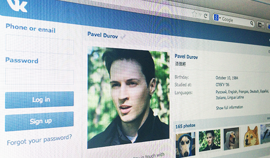 Pavel Durov, founder of social network VK, fired as CEO