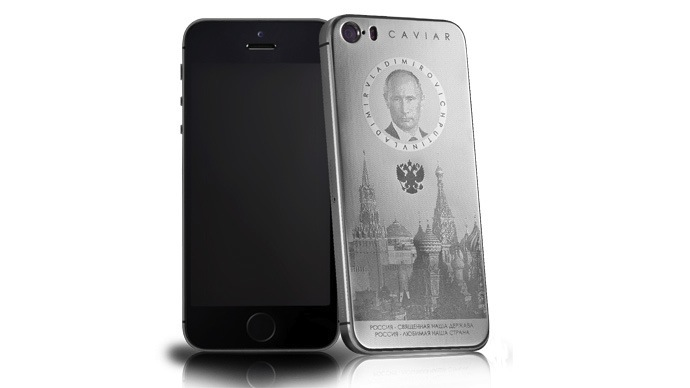 Titanium iPhone with Vladimir Putin's face goes on sale for $3,300