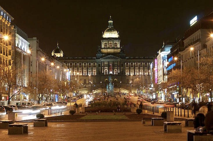 St Wenceslas Square, Prague, Czech Republic (Image: Jeffrey B. Ferland under a CC licence)
