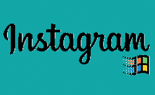 What would Instagram have looked like in 1995?