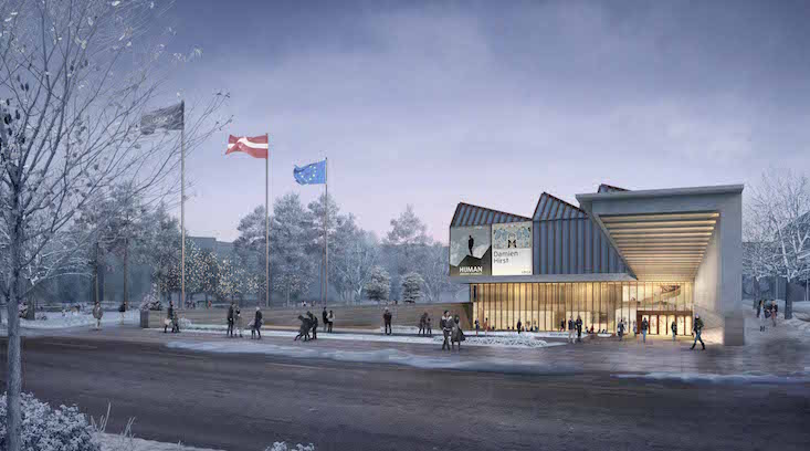 Check out plans for the upcoming Latvian Museum of Contemporary Art