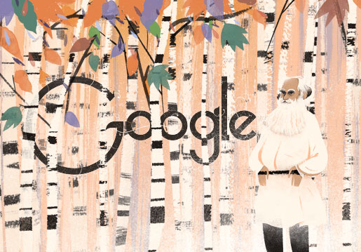 Google celebrates Tolstoy's birthday with special Doodle