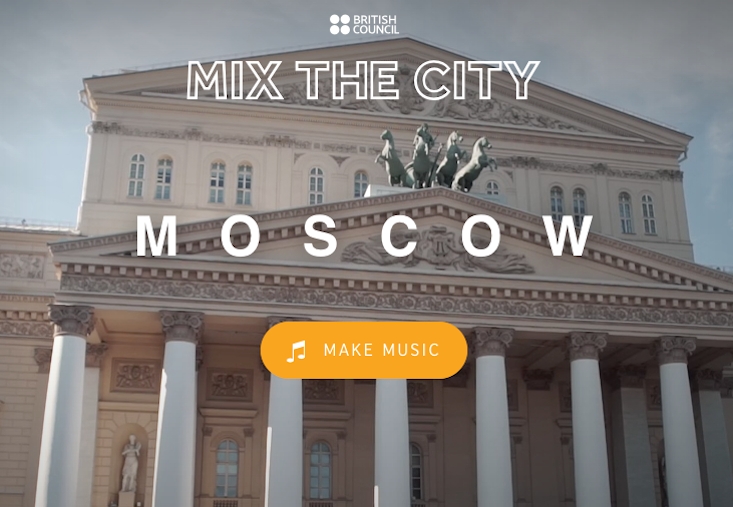 Mix the city: your Moscow soundscape