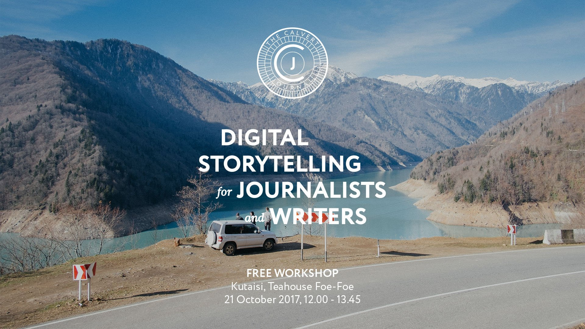 The Calvert Journal presents workshops on digital storytelling in Georgia