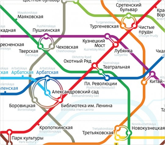 Art lebedev studio wins vote for best moscow metro map redesign art lebedev studio wins vote for best moscow metro map redesign gumiabroncs Images