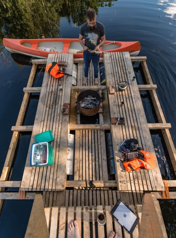 Waterway: discover the floating structures of the Estonian wetlands