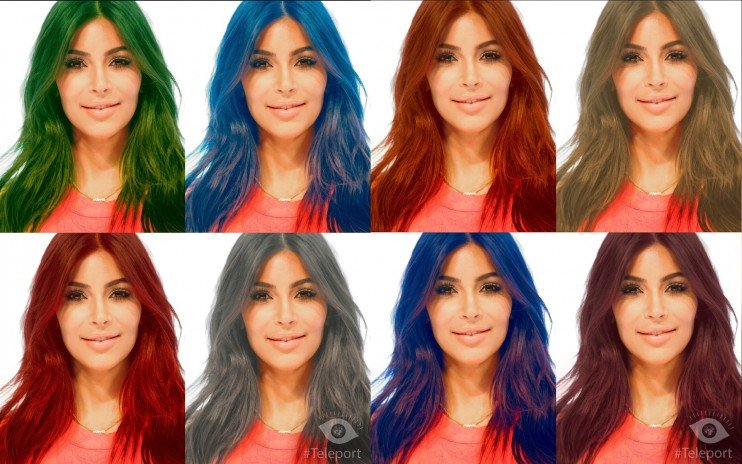 Edit Your Selfies With This New Wildly Popular Russian App The - Edit your hairstyle