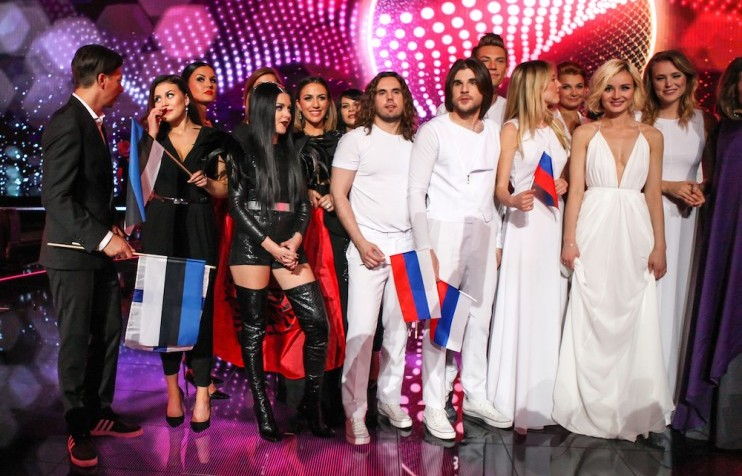 Serbia, Russia and Estonia among Eurovision favourites after first semi-final