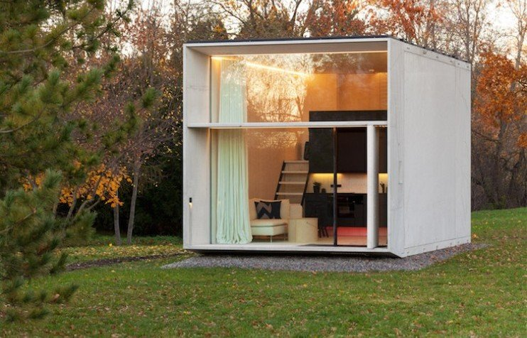 Check out these tiny prefab houses by Estonian design collective Kodasema