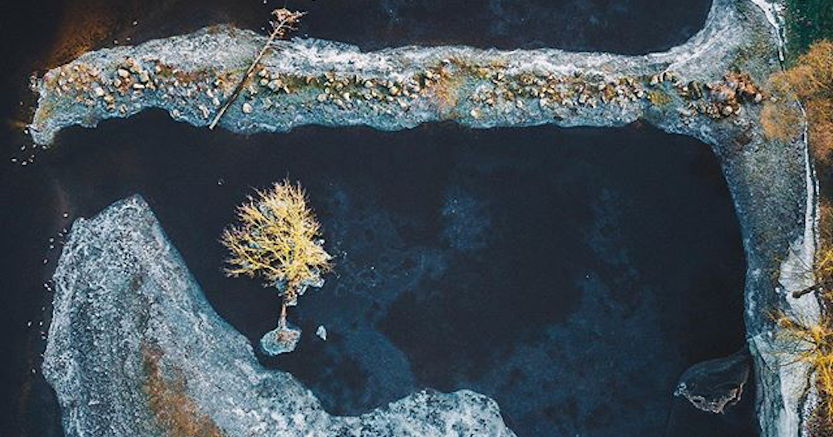 Breathtaking drone photography of the Baltics