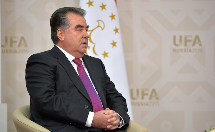 Tajik President condemns national TV and radio