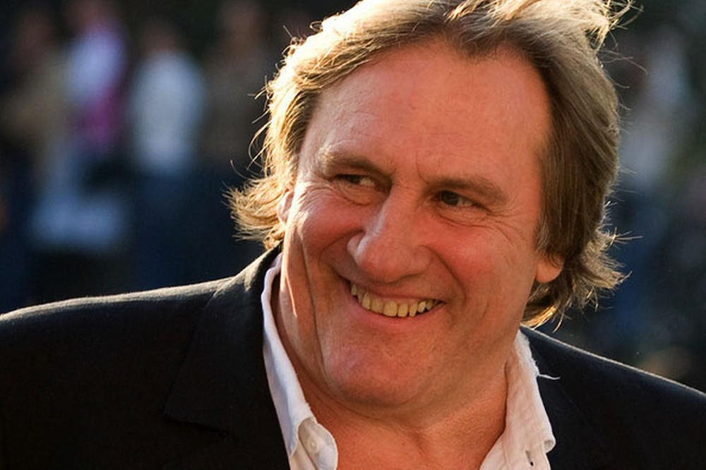 Gérard Depardieu to launch 'bio-vodka' brand in Russia
