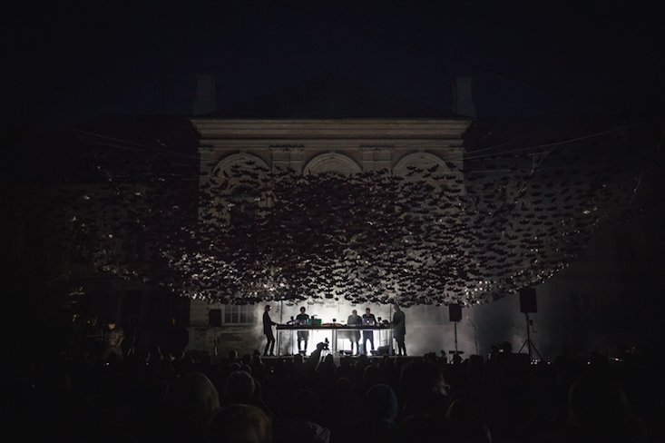 10,000 bats descend upon Latvian Nature Concert Hall
