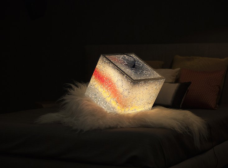 Latvian studio's light cubes are inspired by nature