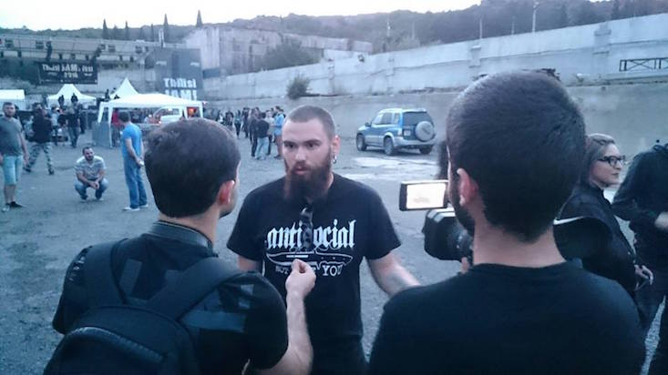 Orthodox activists shut down music festival in Tbilisi