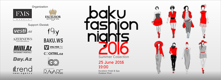 Baku to celebrate Fashion Night on 25 June