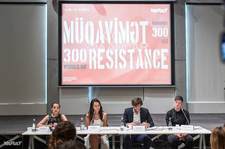 300 Words on Resistance: exhibition of emerging Azerbaijani artists in Baku