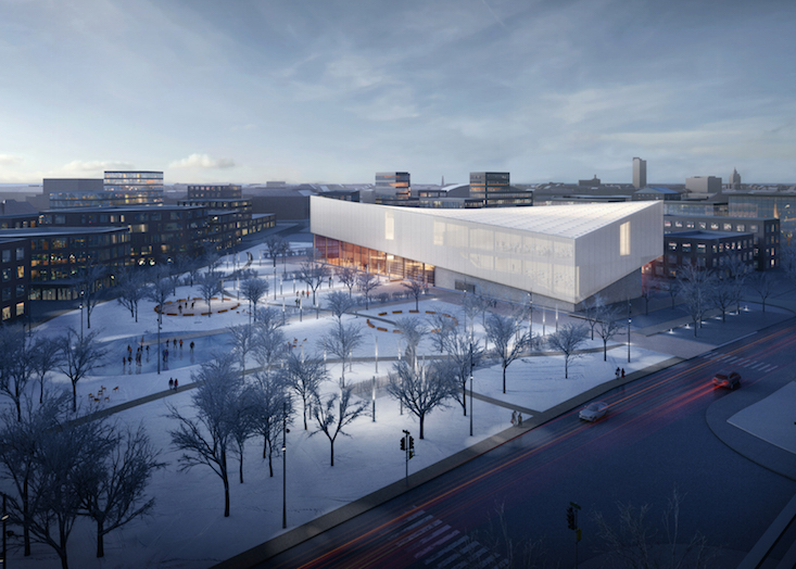 Proposals revealed for design of Latvian Museum of Contemporary Art