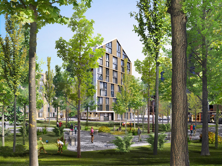 "New Lviv housing project will ""invite nature in"""