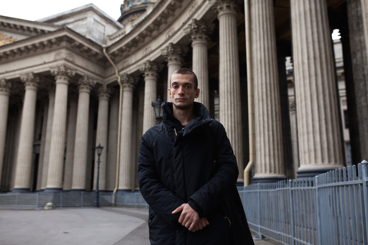 Russian art activist Pyotr Pavlensky claims assault by police
