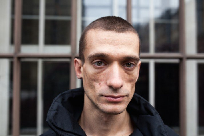 Russian performance artist Pyotr Pavlensky freed from serving sentence