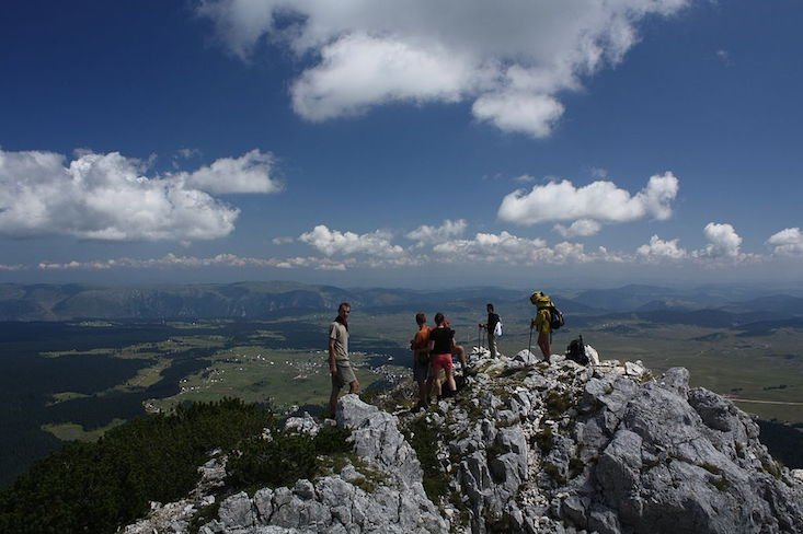 Durmitor National Park, Montenegro. Image: Mercy from Wikimedia Commons under a CC licence