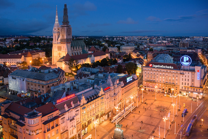 Zagreb tops list of 2017 European destinations