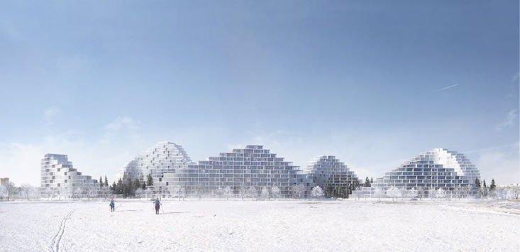 Check out the housing scheme that could make you mistake Bratislava for the Alps
