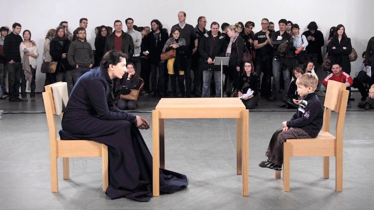 Could you be in Marina Abramović's Kiev show?